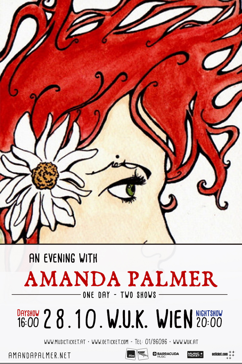 Amanda Palmer - Austria, Vienna, WUK - 28 Oct 2016 BOTH SHOWS (1)