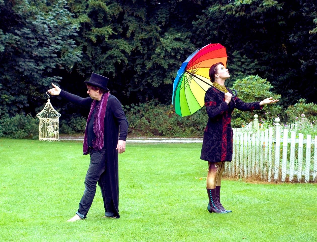 "AMANDA PALMER & EDWARD KA-SPEL: ""I CAN SPIN A RAINBOW"" – The Album"