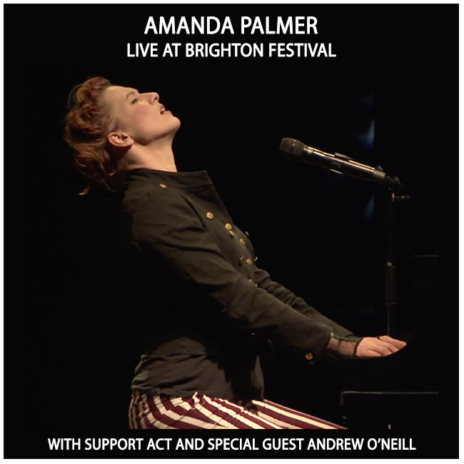 Videos The official website of Amanda Fucking Palmer  Yes it is